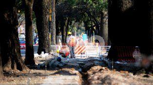 Cortes y desvíos por tareas de bacheo en Bulevar Gálvez