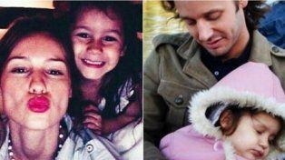 a cuatro anos de su muerte, pampita y vicuna se juntaron para recordar a su hija blanca