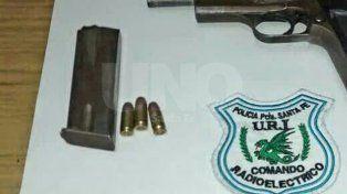La pistola 9 milímetros