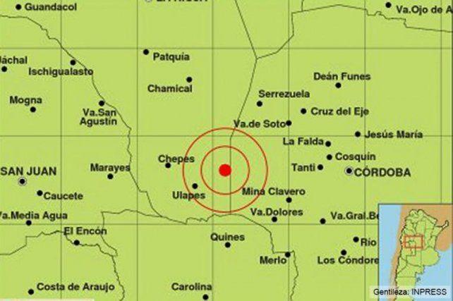 Un fuerte sismo afectó Córdoba y a tres provincias vecinas