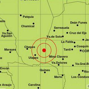 un fuerte sismo afecto cordoba y a tres provincias vecinas