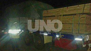 En un control policial, secuestraron un camión robado