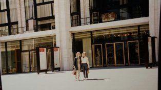 Testimonio. La foto tomada un día antes en el lugar de la tragedia en Manhattan.