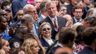 Impactante: difunden video en el que se vería el delicado estado de salud de Hillary Clinton