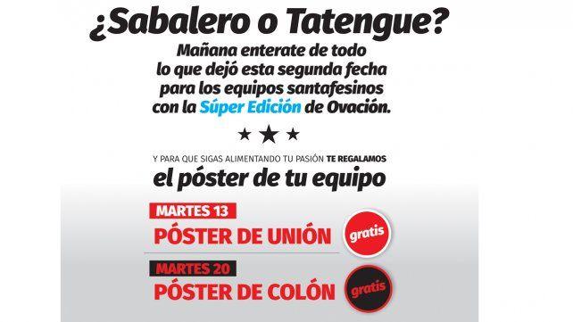 Este martes pedí el póster de Unión