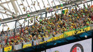 La emotiva historia detrás de esta foto del fútbol holandés