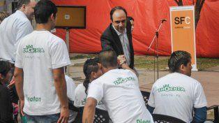 En conferencia. Este lunes se anunció el programa Ciudad Inclusiva, para los recolectores urbanos informales.