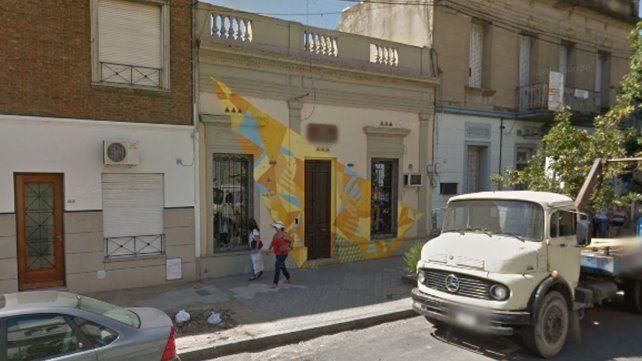 El local ubicado sobre calle Junín al 2500.