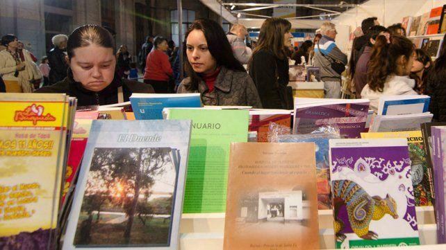 Comienza la 23ª Feria del Libro de Santa Fe en la Estación Belgrano