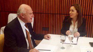 Lifschitz acordó con Vidal trabajar coordinadamente en la lucha contra el narcotráfico