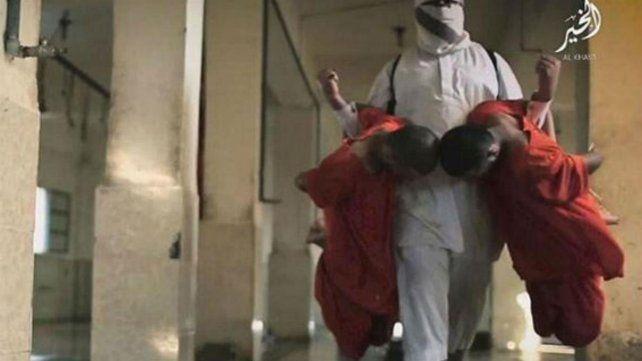 El Estado Islámico difundió su video más cruel