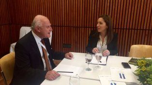 Narcotráfico. Lifschitz se reunió con la gobernadora de Buenos Aires