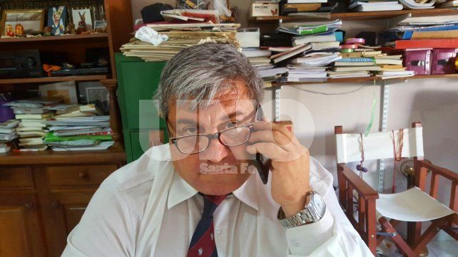 Franqueza. El abogado penalista Jorge Qüesta