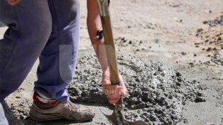 El consumo de cemento cayó casi 9% en la provincia