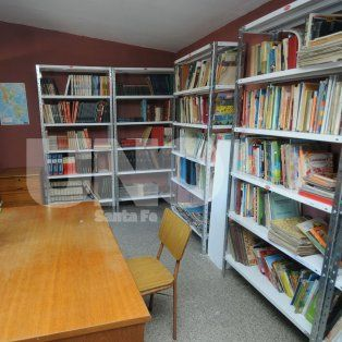 La segunda. La primera biblioteca está en San Lorenzo y la próxima se ubicará en Villa del Parque.