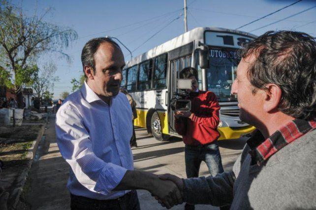 Santa Rosa de Lima sumó nuevo pavimento y la Línea 18 retoma su recorrido