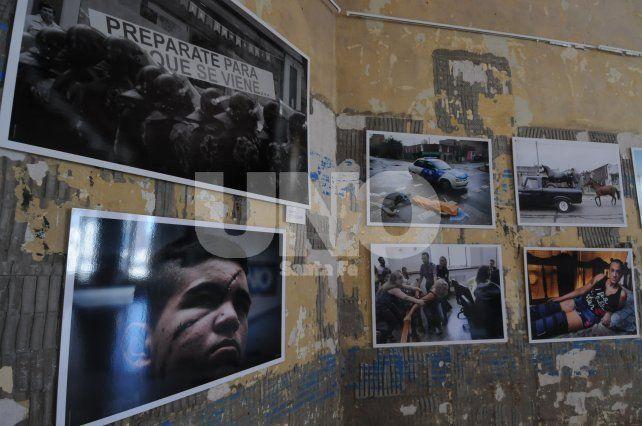 Mauricio Centurión. El fotógrafo del UNO participa con el retrato de Lautaro Herrera