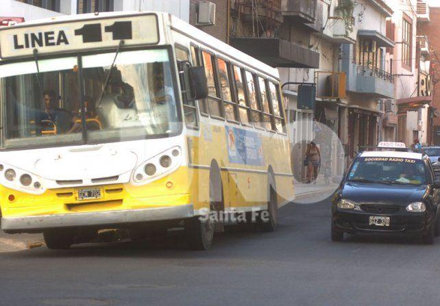Transporte público: desvíos de colectivos por obras en la ciudad