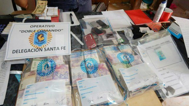 Cayeron cuatro integrantes de una narcobandacriminal en Santo Tomé y Sauce Viejo