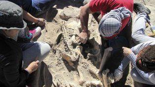 Encontraron en Mendoza un cementerio indígena de más de mil años de antigüedad