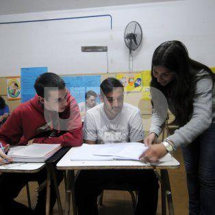 Entusiasmo. Todas las propuestas son pensadas, en conjunto, por los alumnos y los estudiantes.