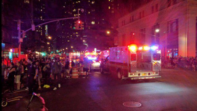 Video: investigan explosión en Nueva York que dejó 29 heridos