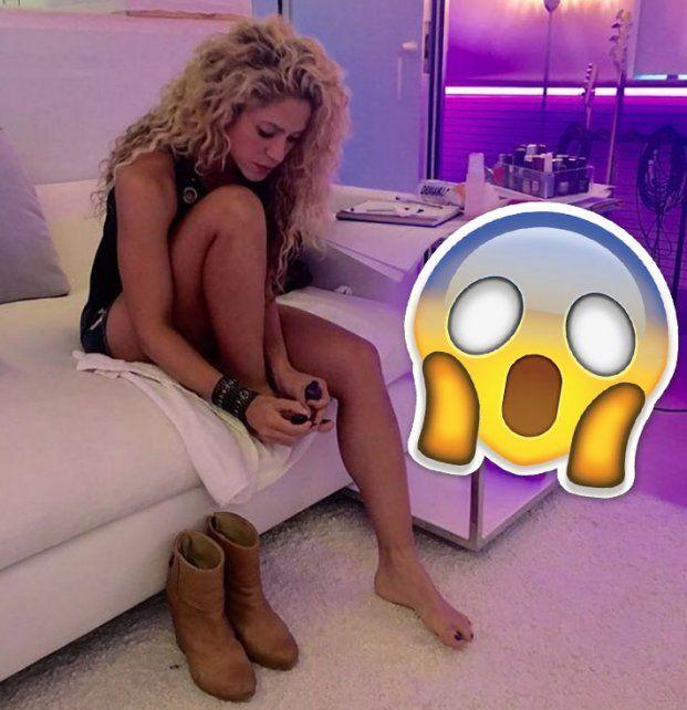 ¿Shakira se sacó una foto con un chiche sexual?