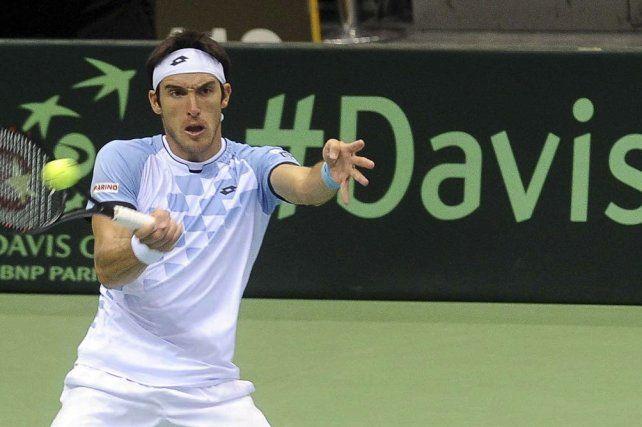 Mayer le ganó a Evans y Argentina jugará su quinta final de la Copa Davis