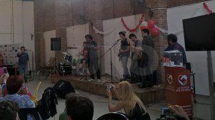 El Chaca volvió a rockear en Santa Fe