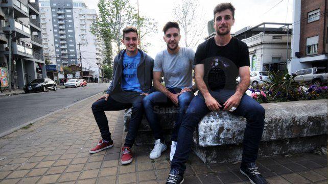 Los juveniles futbolistas tuvieron mucha predisposición para prestarse a la entrevista de Ovación.