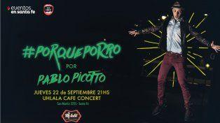 Diario UNO te invita a ver a Pablo Picotto con lo mejor del stand up