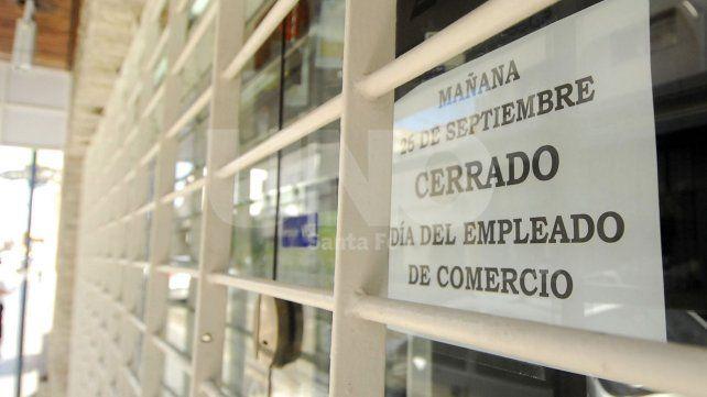 El próximo lunes los empleados de comercio festejarán su día y será feriado
