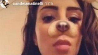 Candelaria Tinelli se hizo un piercing que no se puede mostrar...