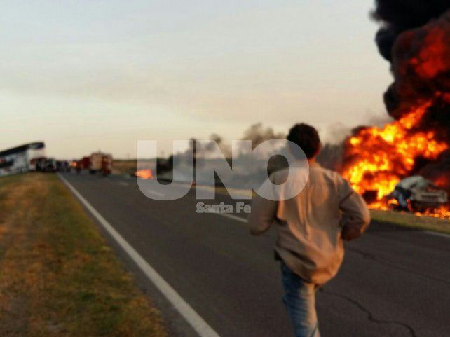 Identificaron a las dos víctimas fatales del choque de San Cristóbal