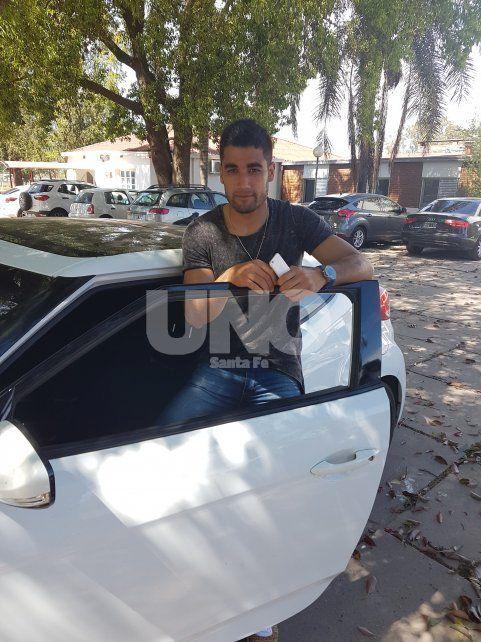 El defensor conversó con Diario UNO luego de que finalizaran las actividades futbolísticas en Casasol.