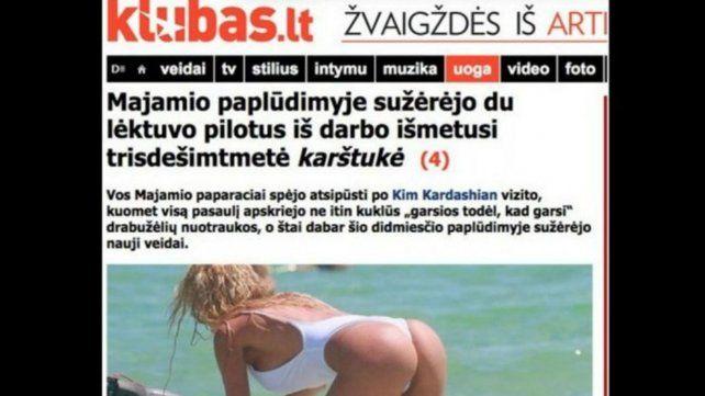 Xipolitakis llegó a los diarios de Grecia, Estados Unidos y Lituania