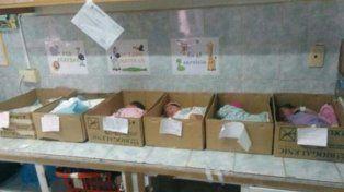La cara que más duele de la crisis: bebés en cajas en un hospital de Venezuela