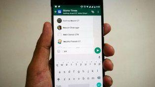 ahora podes mandar zumbidos en whatsapp