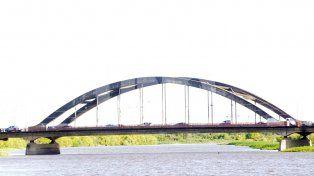 Accidente en el puente Carretero