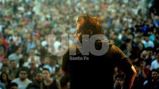 Cabezones. Una multitud pudo compartir las canciones del grupo que representó a la ciudad por Latinoamérica.