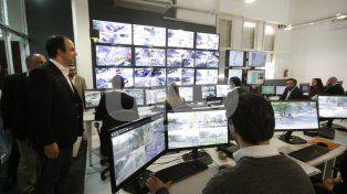 Centro de Monitoreo: incorporaron 48 cámaras y tecnología para más seguridad