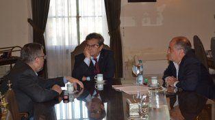 Simoniello se reunió con el rector de la UNL
