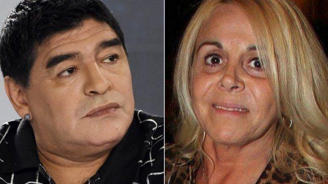 Claudia Villafañe demandará a Diego por sus hijos extramatrimoniales