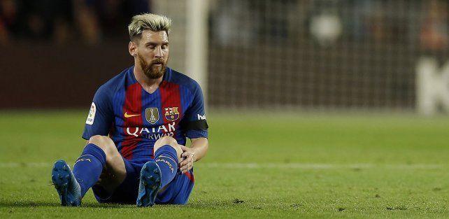 La dolencia de Messi levantó polémica