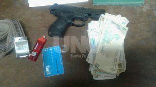Asaltó un local comercial con una pistola de juguete y terminó tras las rejas