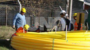 Avanza el proceso para dotar de gas natural a un gran sector del barrio Cabal