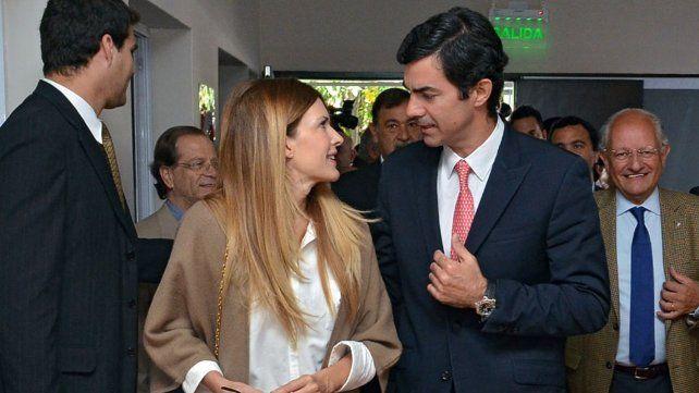 Isabel Macedo y Juan Manuel Urtubey, a punto de dar el sí