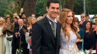 Isabel Macedo y Juan Manuel Urtubey se casaron en una ceremonia al aire libre