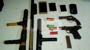 Apresaron en Santo Tomé a violentos delincuentes y les secuestraron armas