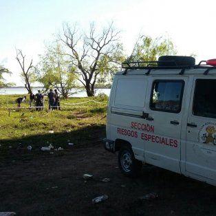 Pescadores encontraron restos humanos en cercanías de la ruta 168